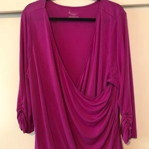 Woman's fuchsia blouse 22/24